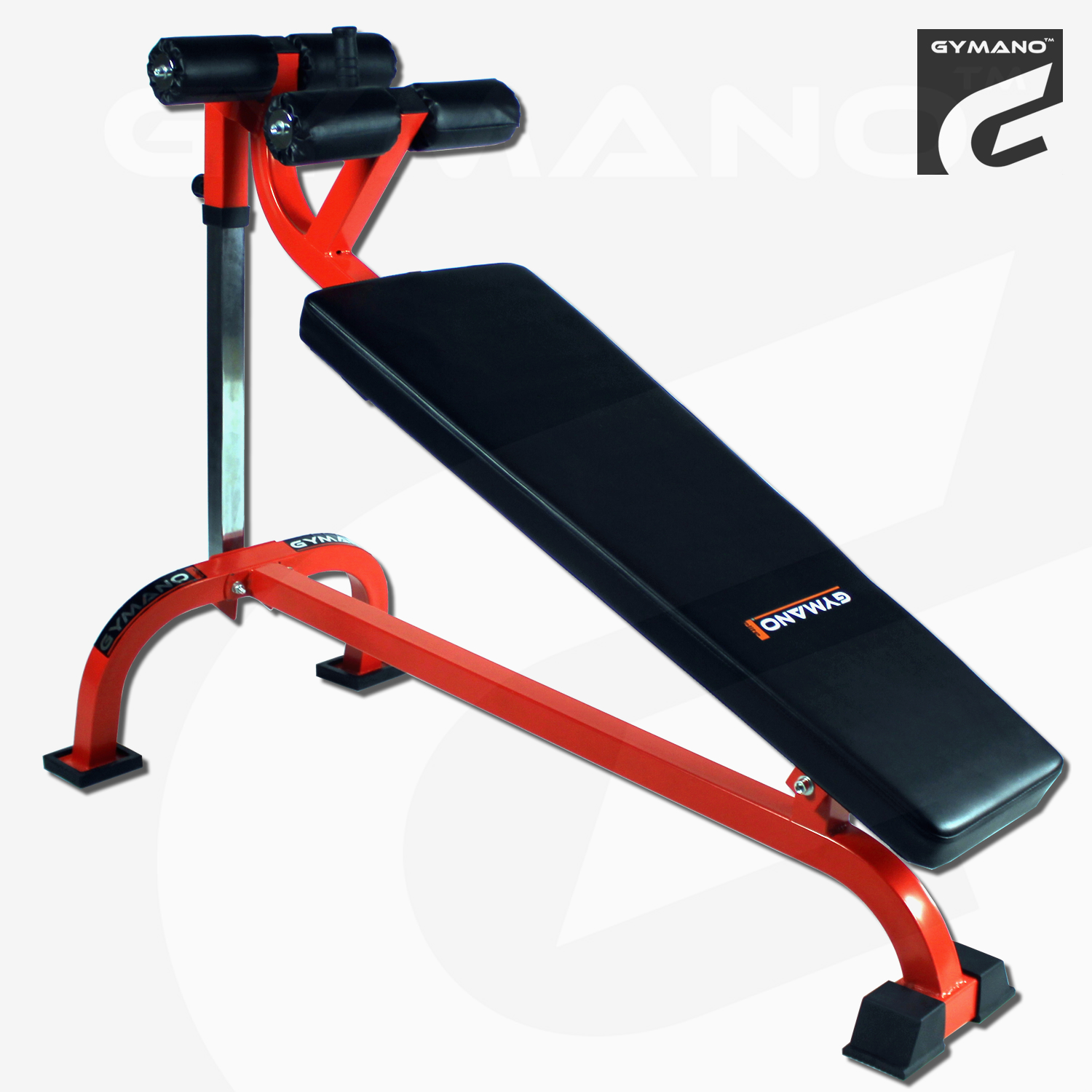 Gymano Pro Decline Crunch Bench Adjustable Sit Up Abs Core Commercial Ebay
